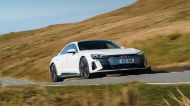 Audi e-tron GT quattro – cornering