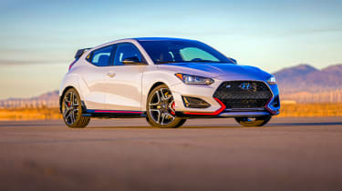 Hyundai Veloster N - front