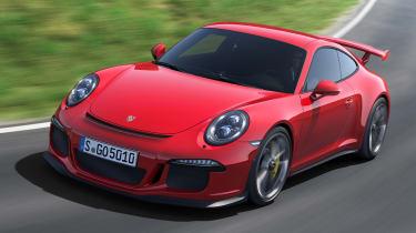 2013 Porsche 911 GT3 red