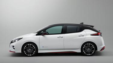 Nissan Leaf Nismo concept officials profile