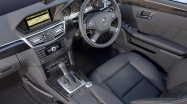 Mercedes E-Class estate cabin