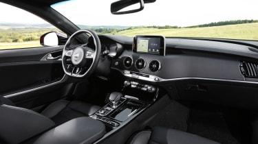 Kia Stinger GT press - interior