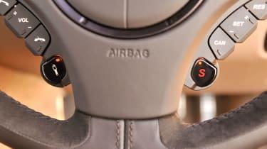 Aston Martin Vanquish steering wheel