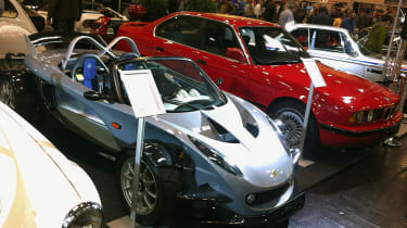 Lotus 340R and E34 M5