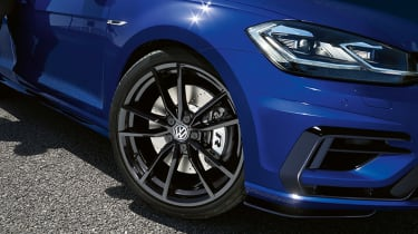 Golf R Performance pack brakes