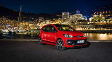 Volkswagen Up GTI 2018 night