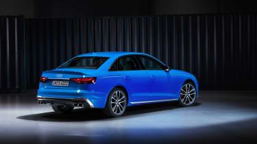 2019 Audi S4 - rear quarter