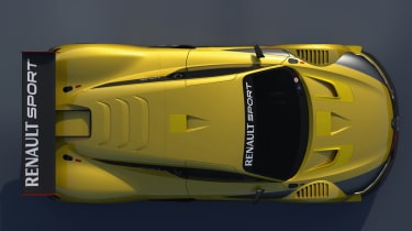 Renault R.S 01 race car unveiled