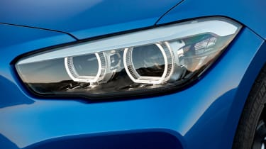 BMW 1-series hatch - headlighst