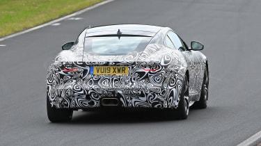 Jaguar F-type facelift spied rear