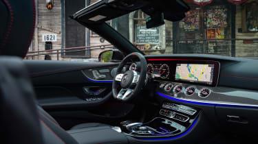 Mercedes-AMG E53 Cabriolet US - interior