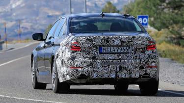 BMW 5-series facelift - rear