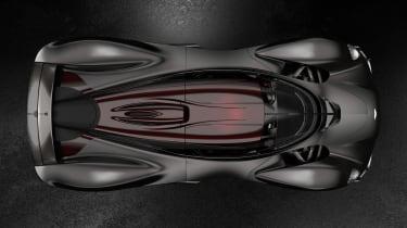Aston Martin Valkyrie Q by AM - black top