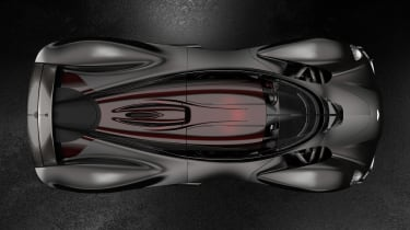 Aston Martin Valkyrie Q by AM - black top