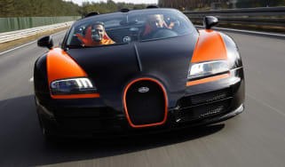 evo Harry Metcalfe Bugatti Veyron Vitesse speed record