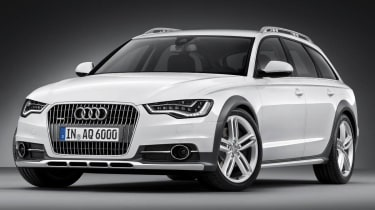 New Audi A6 Allroad front view