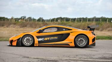 McLaren 12C Can-Am side profile