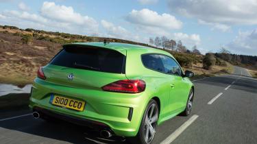 Volkswagen Scirocco R - rear quarter