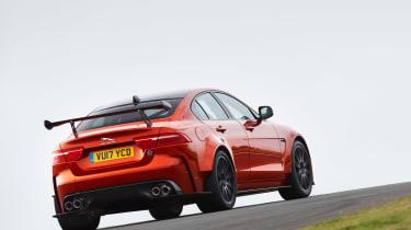 Jaguar XE SV Project 8  rear