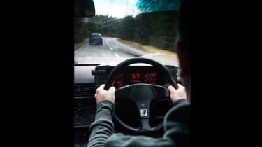 4x4 Wales test - interior quattro