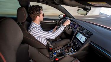 VW Golf GTI - interior