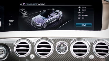 Mercedes S-class - dials