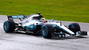 Mercedes-AMG Petronas F1 front