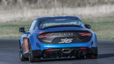 Alpine A110 Cup – rear
