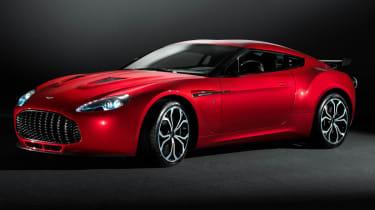 Aston Martin V12 Zagato front