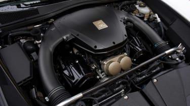 Lexus LFA engine bay