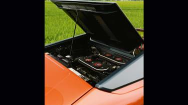 Lamborghini Silhouette - engine