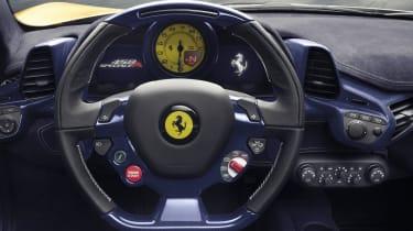 Ferrari 458 Speciale Aperta appearing in Paris