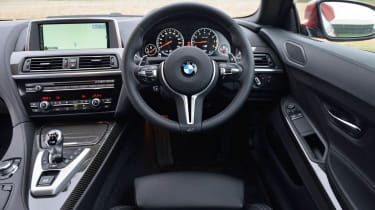 BMW M6 Competition Package new steering wheel