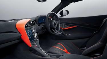 MSO McLaren 720S stealth interior