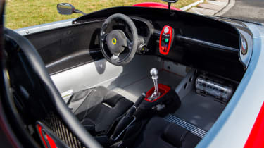 Lotus 3-Eleven – interior