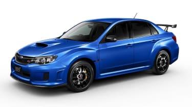 Subaru Impreza WRX STI tS Type RA Mica Blue