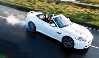 Jaguar XKR-S Convertible video