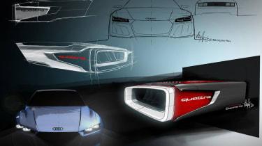 Audi Quattro concept details