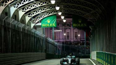 F1 Singapore - Merc Petronas