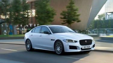 Jaguar XE Landmark - front quarter