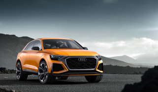 Audi SQ8 - front three quarter