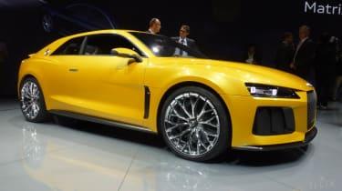 Audi Quattro concept: Frankfurt motor show 2013