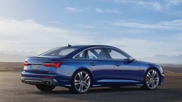 Audi S6 saloon - rear