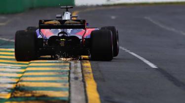 Toro Rosso rear Melbourne