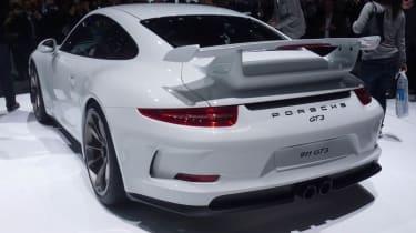 2013 Porsche 911 GT3 rear