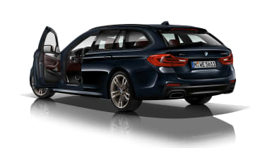 BMW M550d xDrive rear 3.4