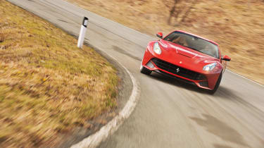 Ferrari F12 drift