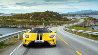 Ford GT review (AP) – nose