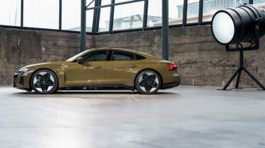 Audi RS e-tron GT - green