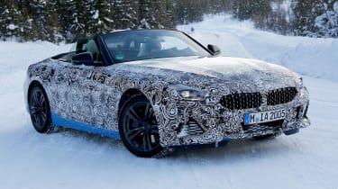 BMW Z4 mule - front quarter